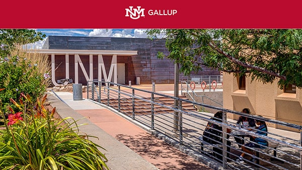 UNM letters and Students