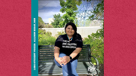 LOBO STUDENT VOICES: ALLISON BEGAY (BSN, 2020)