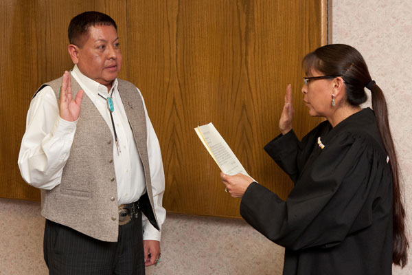 New Member Sworn in