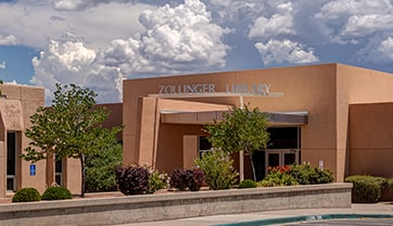 UNM-GALLUP'S ZOLLINGER LIBRARY, ACADEMIC LIBRARIES THROUGHOUT NEW MEXICO COULD BENEFIT FROM GO BOND B.