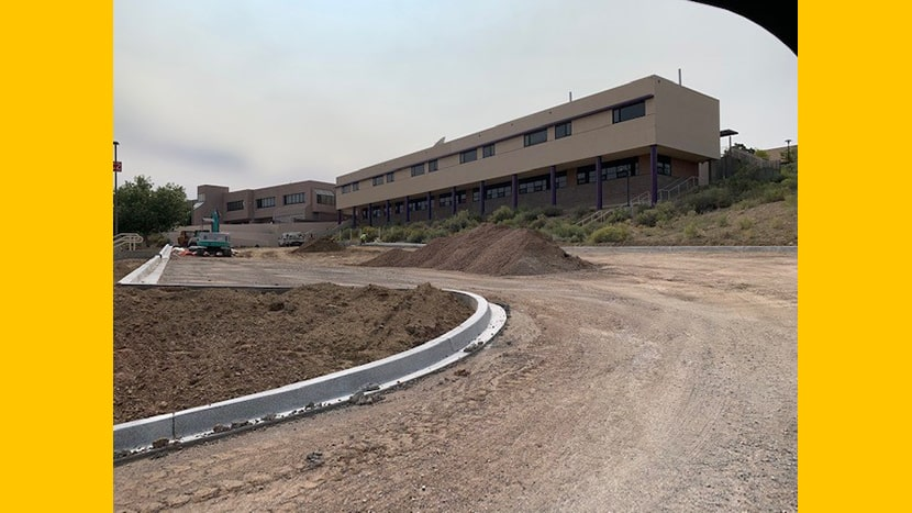 UNM-GALLUP FACILITIES MANAGEMENT COMPLETING 